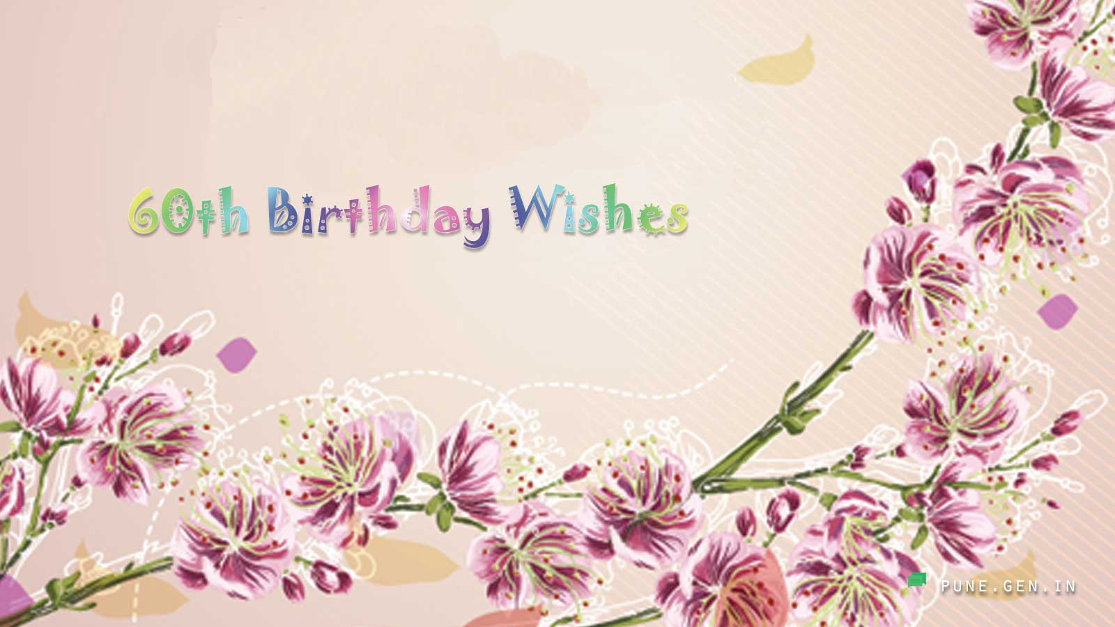 60th Birthday Wishes Quotes And Messages Wishes Messages Pune