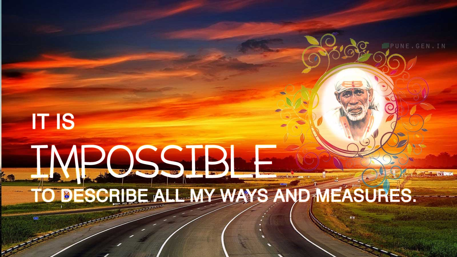 Sai Baba Teaching's : It isimpossible to describe…