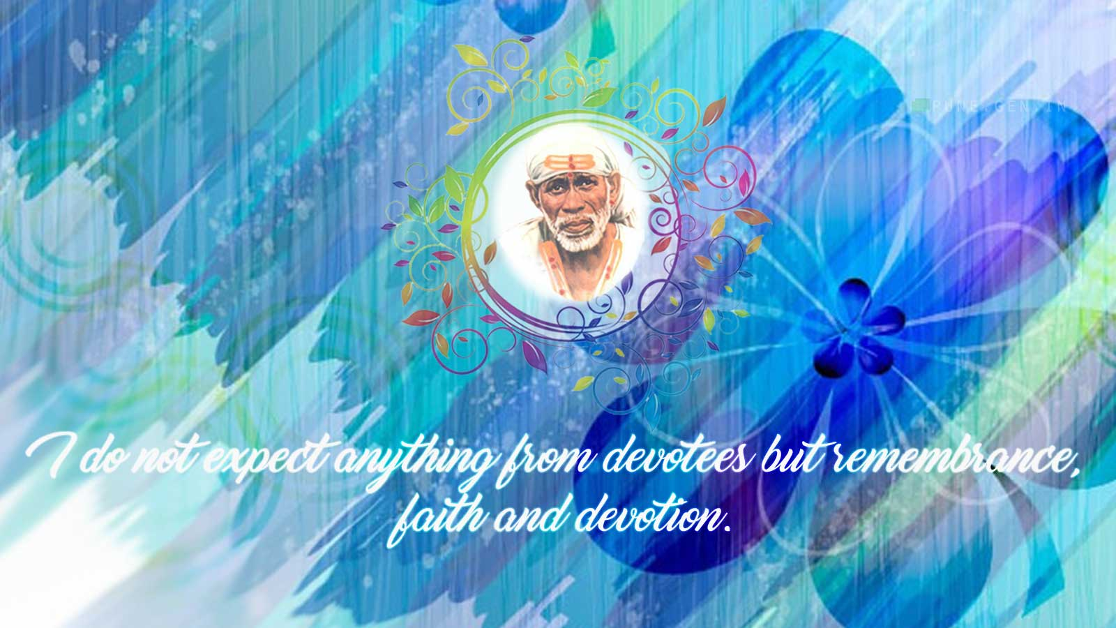 Sai Baba Teaching's : I do not expect anything