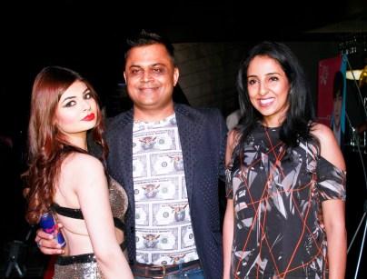 Christina Bharwani ( Promoter KFL) Badal Saboo ( MD, Pune FAshion Week & Chairman Face of India) Nivedita Saboo ( Fashion Designer)