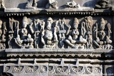 Sculptures of Aundha Nagnath