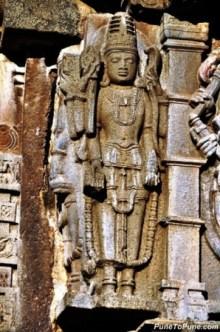 Lord Shiva with Naga and Trishula