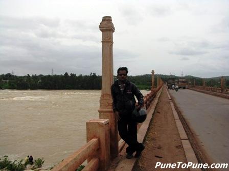 at Tungabhadra Dam