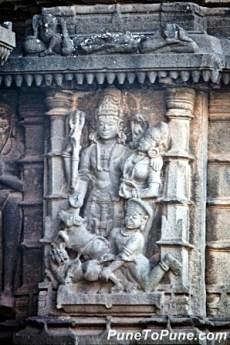 Shiva at Aundha Nagnath