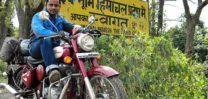 Pune to Himachal Pradesh on Motorbike