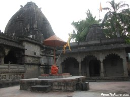 Devi Temple with Hanuman in front