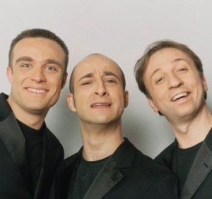 da sinistra: Francesco De Fraia, Lello Ferrante,  Mimmo Manfredi