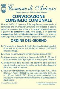 manifesto consiglio comunale