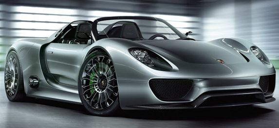 10 Top Luxury Car Brands PORSCHE 918 SPYDER