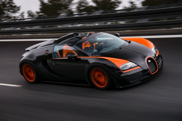 10 Top Luxury Car Brands BUGATTI VEYRON 16.4 GRAND SPORT VITESSE