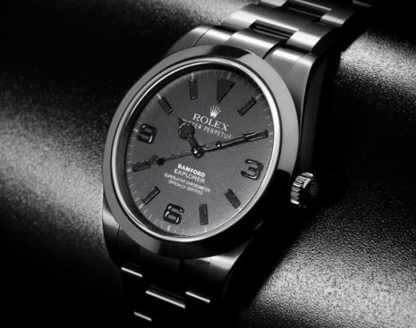Bamford Limited Edition Rolex Explorer