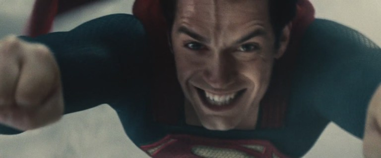 The best screenshot of Man of Steel, if I have to be honest. Even if his forehead vein is distracting as hell.