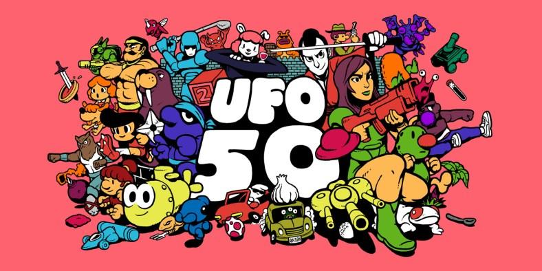 UFO 50 game art