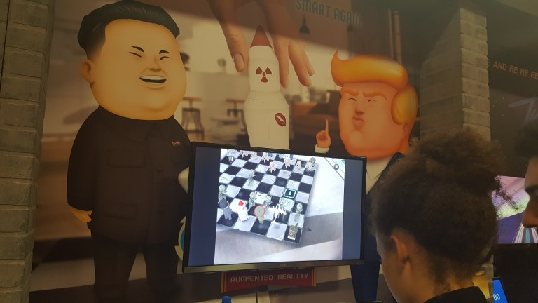People's Chess Pits 'Dotard' Trump Against 'Rocket Man' Kim Jong-un In Glorious Fashion