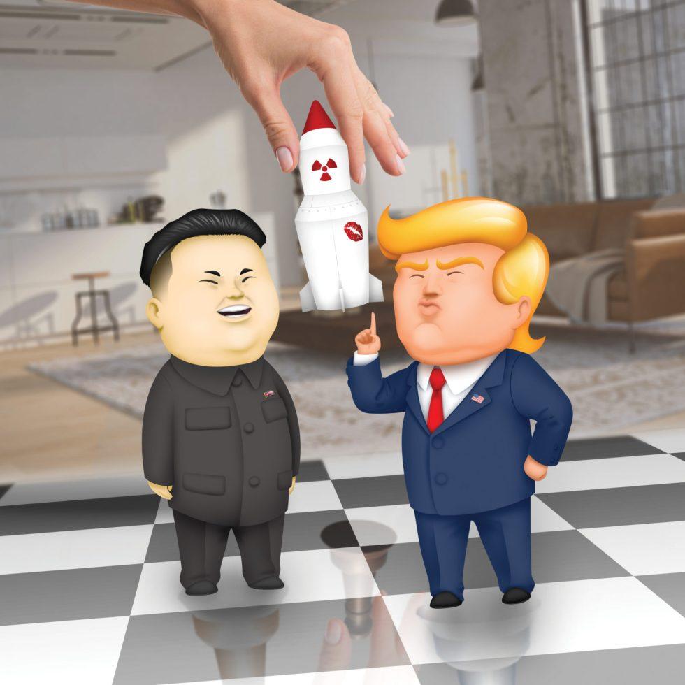 People's Chess Pits 'Dotard' Trump Against 'Rocket Man' Kim Jong-un In Glorious Fashion