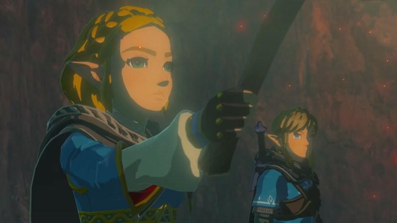 Nintendo E3 2021 - Breath of the Wild 2 sequel - Zelda and Link