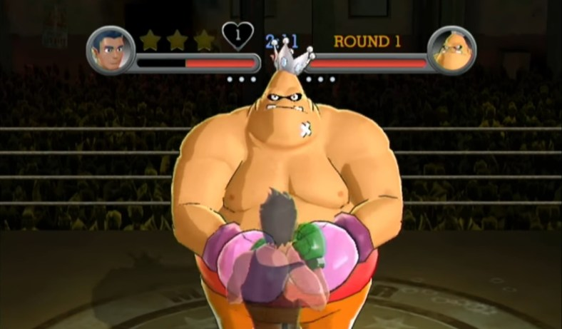 Punch-Out!! (Wii) - King Hippo