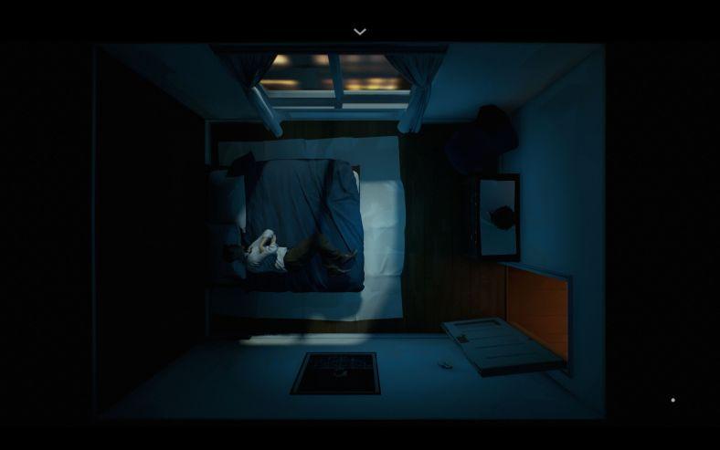 12 Minutes - husband sleeping in the bedroom