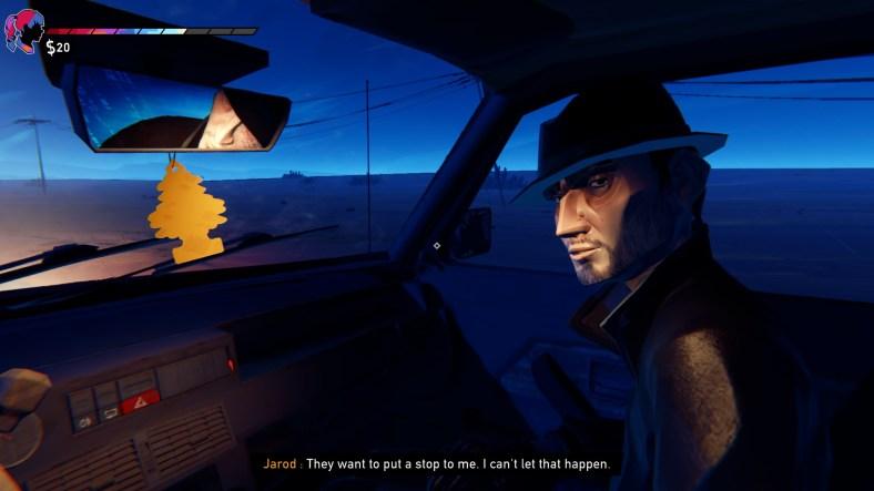 Road 96 review - Jarod scene