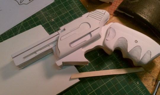 BSG Pistol - Step 4