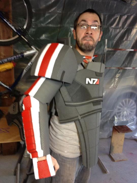N7 Armor Costume & N7 Armor 3 By ByThePound