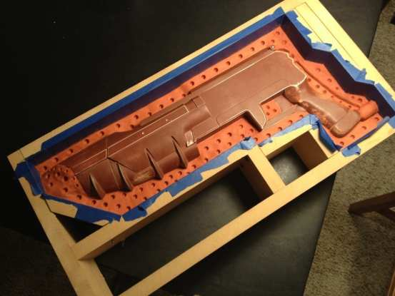 Ghost Rifle - Receiver Clay