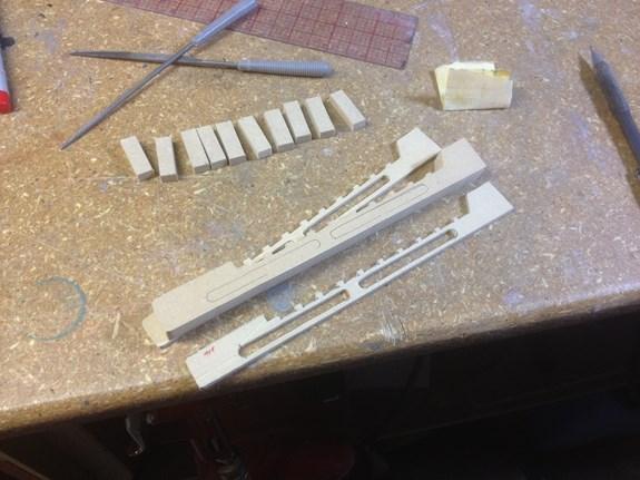Halo Sniper - Rail Pieces