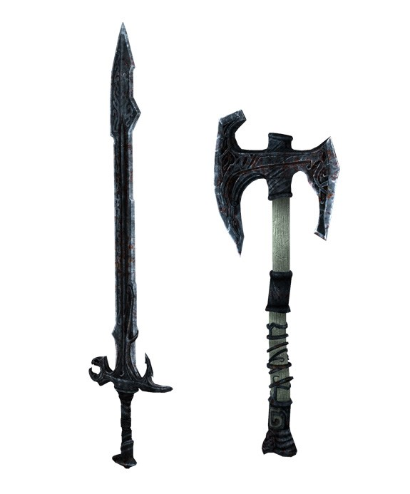Draugr Weapon Reference