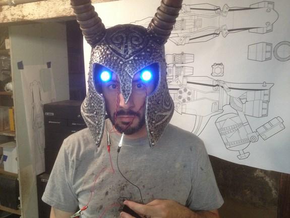 Draugr Helm Eye Test