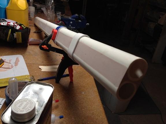 Nausiga Gun Barrel Bands Glued