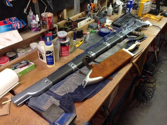 Nausicaa Scabbard Finished 1