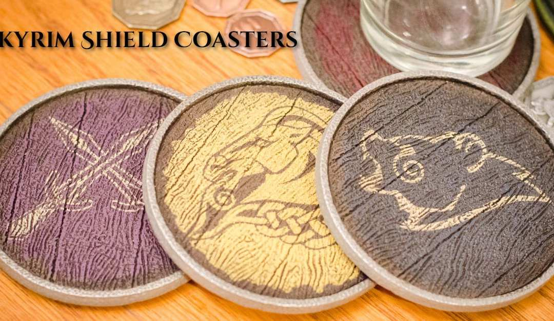 Skyrim Guard Shield Coasters
