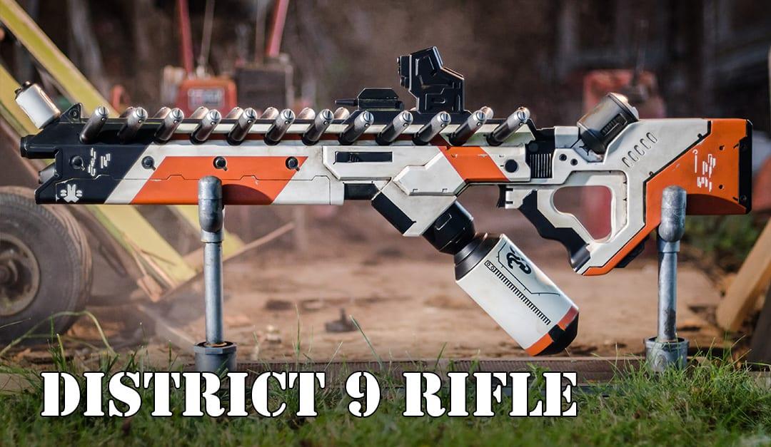 Prop: Shop – District 9 Replica Prop Rifle Build