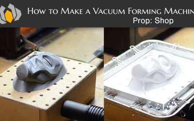 Prop: Shop – How to Make a Vacuum Forming Machine