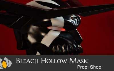 Prop: Shop – Bleach Hollow Mask