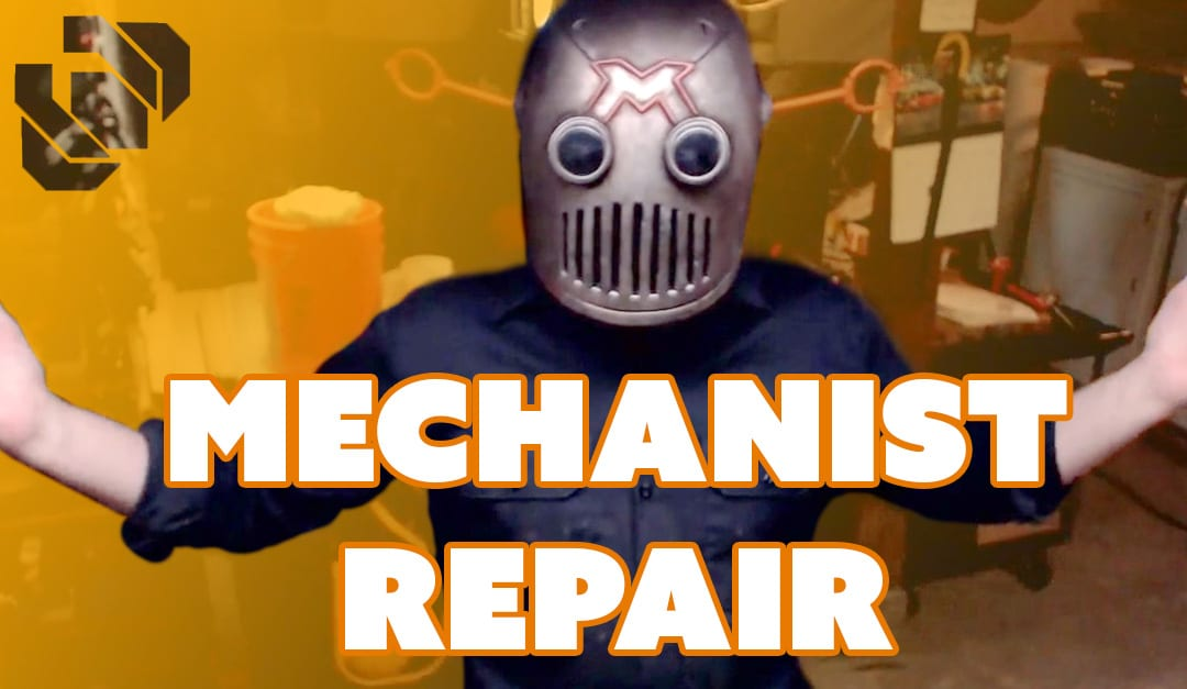 Repairing the Mechanist Costume – Prop: Live from the Shop