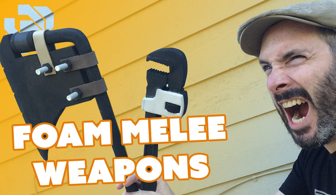 How to Make Foam Melee Weapons – Prop: Live from the Shop