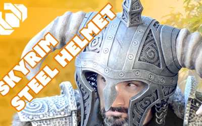 How to Make the Horned Steel Helm for your Skyrim Costume – Prop: Shop