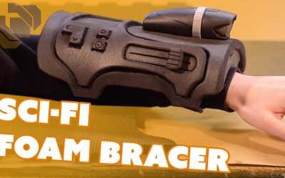 Sci-Fi Foam Bracer – Prop: Live from the Shop