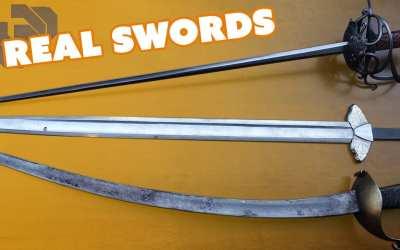 Prop Swords vs Real Swords with Chris Menges – Prop: Shop