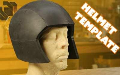 Basic EVA Foam Costume Helmet Template Tutorial