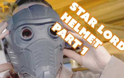 Cleaning Up the Casting – Finishing the Star-Lord Helmet Kit Part 1