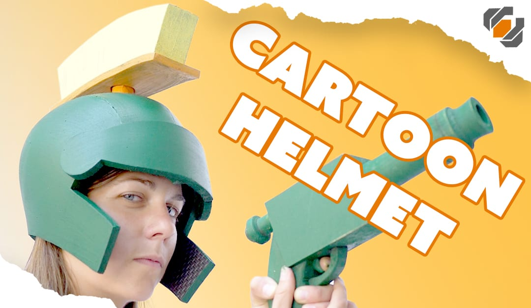 Making a Foam Marvin the Martian Helmet with Ali Spags!