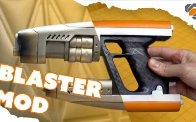 SUPER EASY Star-Lord Toy Blaster Mod – Guardians of the Galaxy Prop