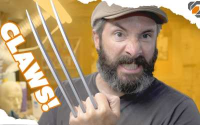 Wolverine's Prop Claws – Cosplay Tutorial Part 2 – Blades