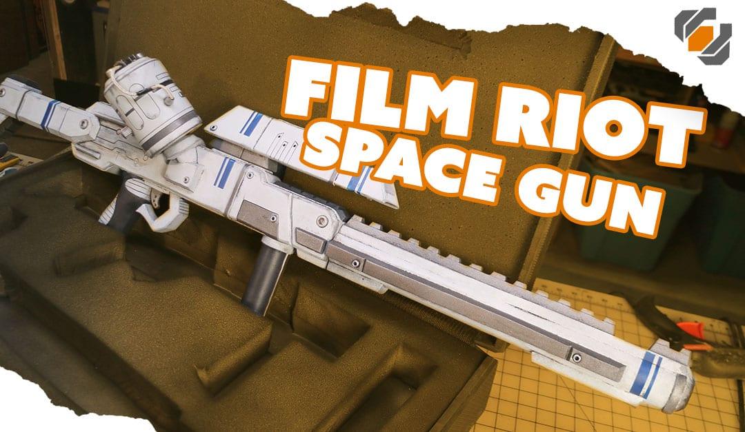 Building a Foam Prop Space Rifle for a Film Riot Short