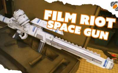 Building a Foam Prop Space Rifle for a Film Riot Short