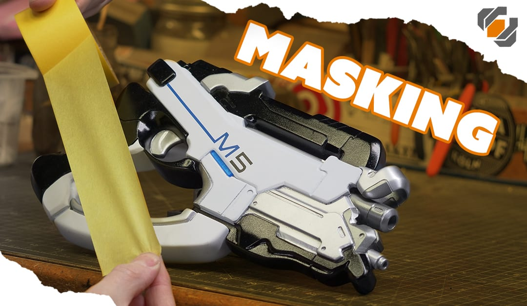 HOW TO MASK and Paint Your Props & Costumes – TUTORIAL