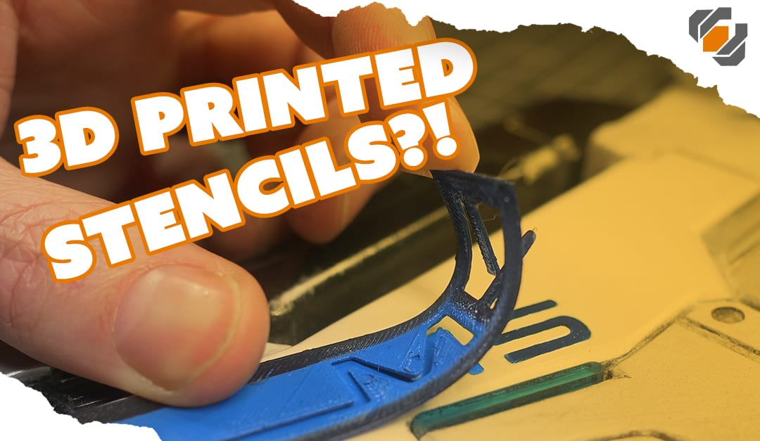 3D Printed Stencils for Prop & Costume Making – TUTORIAL