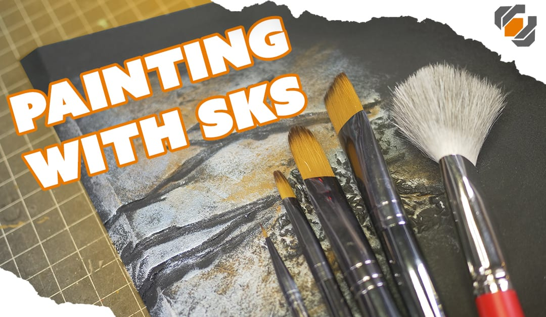 Hand Painting Props 101 with SKS Props – Brushes, Paint, & Techniques